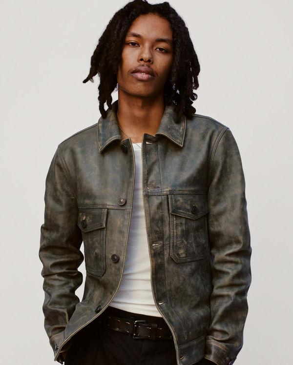 Shop Our Men's Leather Jackets.